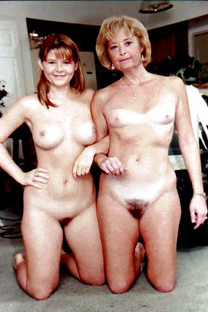 Mature mother daughter nudes
