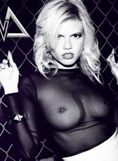 Chanel west coast see through top