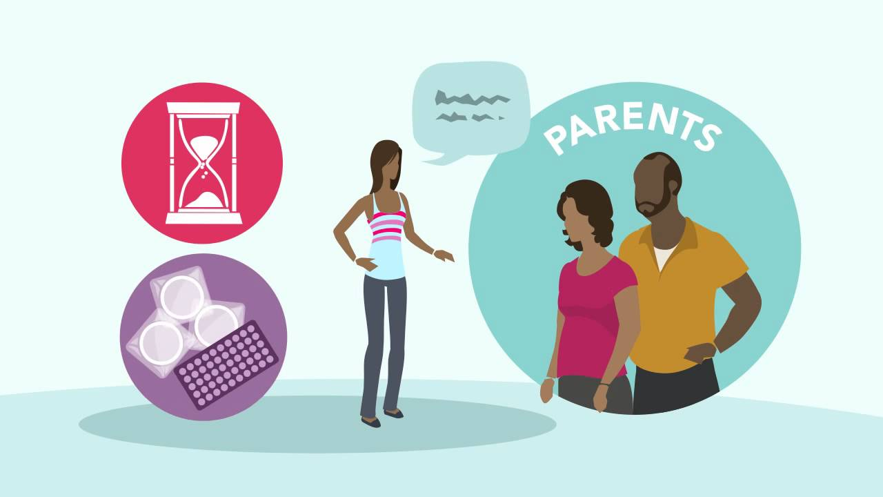Talking to parents about sex