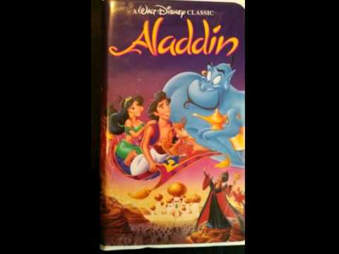 Opening to aladdin 1993 vhs