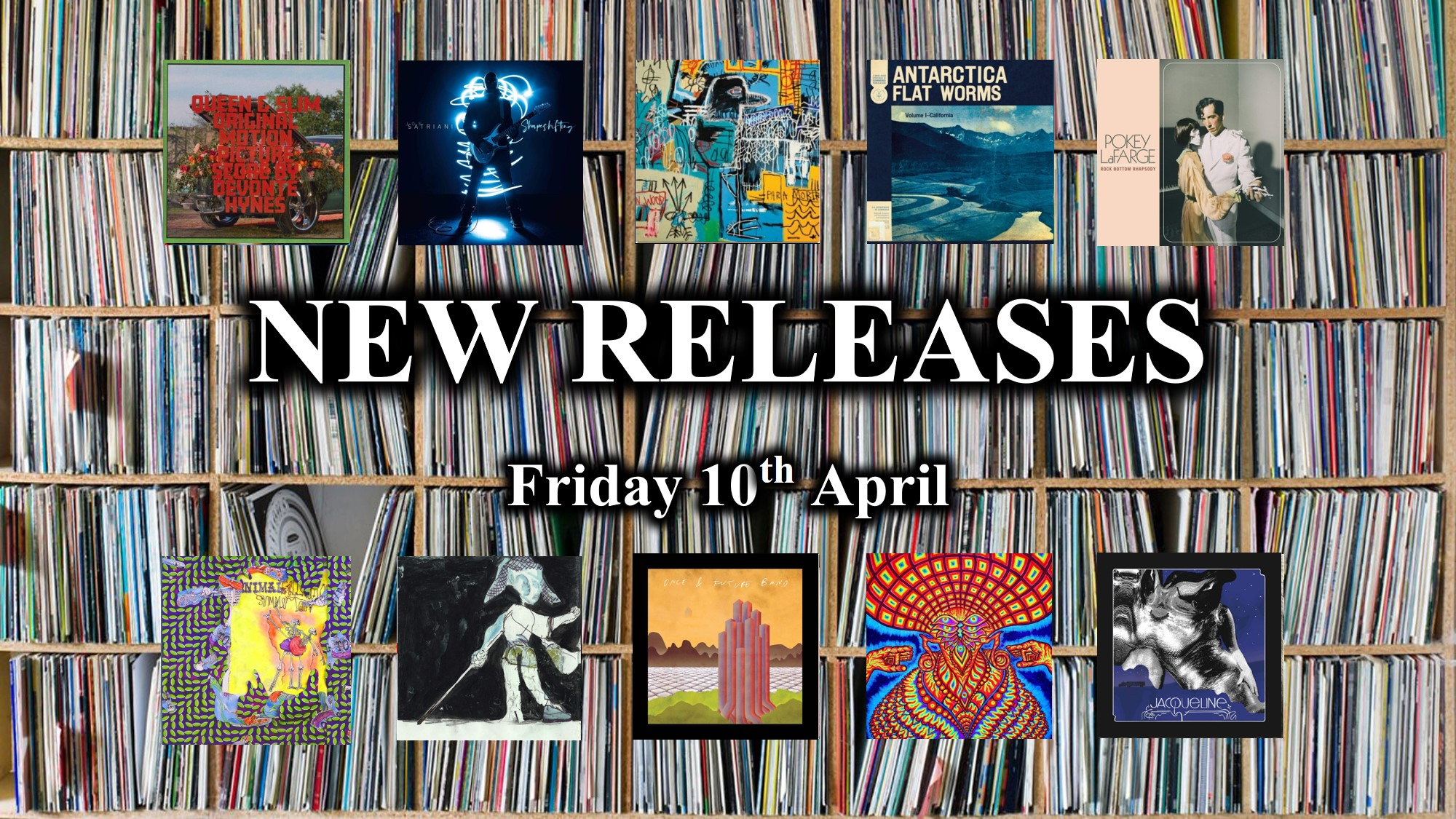 New and future cd releases