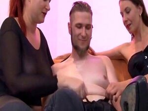 Two matures one guy porn